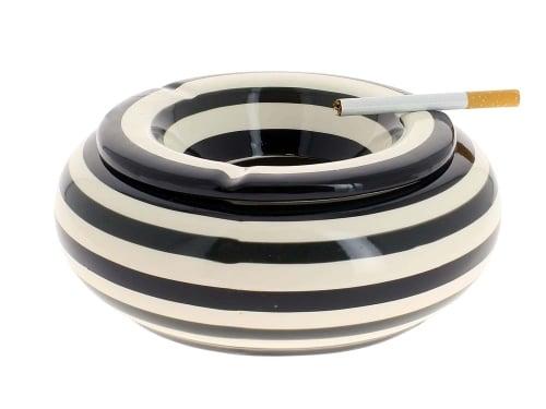 Cendrier Céramique XL Noir