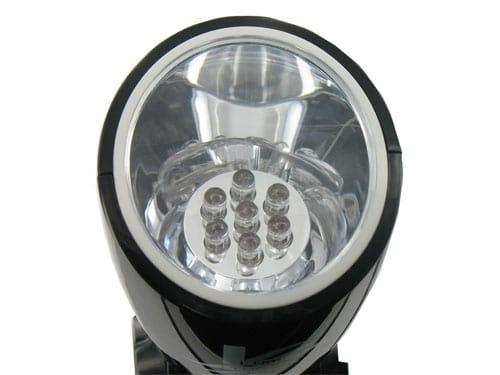 Lampe Torche 7 Led Dynamo et Solaire