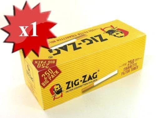 Boite de 250 tubes Zig Zag avec filtre