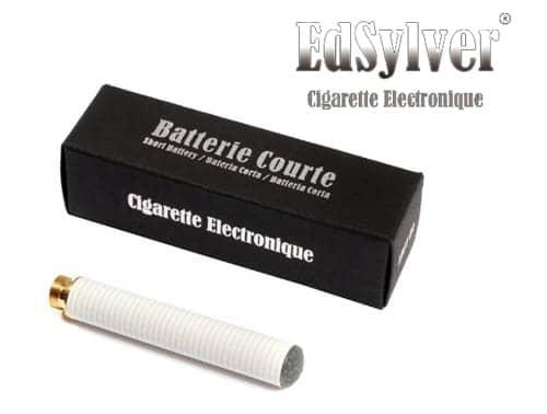 Batterie Courte pour Cigarette électronique Edsylver Bleu
