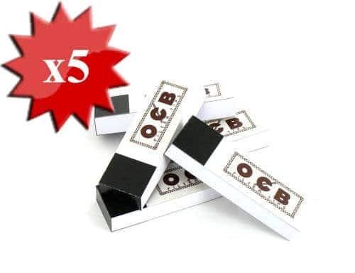 Filtres en carton OCB X 5