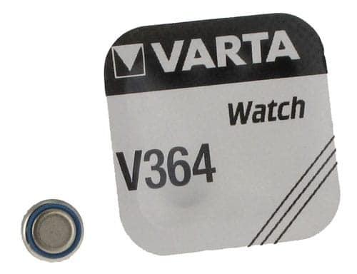 Pile Oxyde d\'Argent Varta V364
