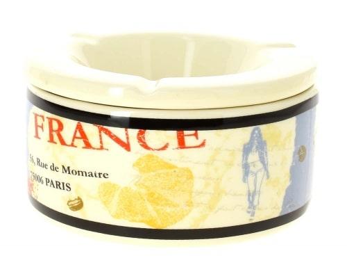 Cendrier céramique Café France