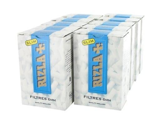 Filtres Rizla+ Slim x 10 boites