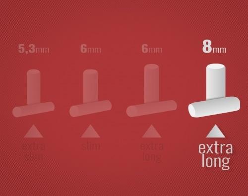 Filtres Smoking Classic Régular Long x 10 sachets