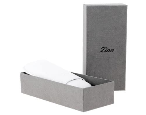 Etui à cigare Zino R-2 cuir blanc