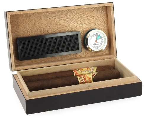 Cave à cigares de voyage Egoist Noir