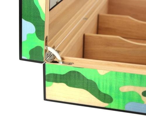 Cave a cigare Elie Bleu Che Camouflage 110 cigares Edition limitée
