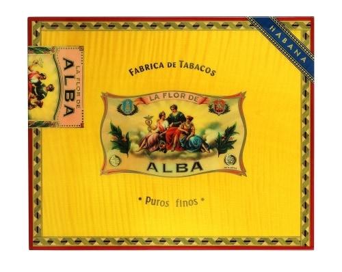 Cave a cigare Elie Bleu Flor de ALba Jaune d\'or