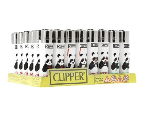 Briquet Clipper x48 panda