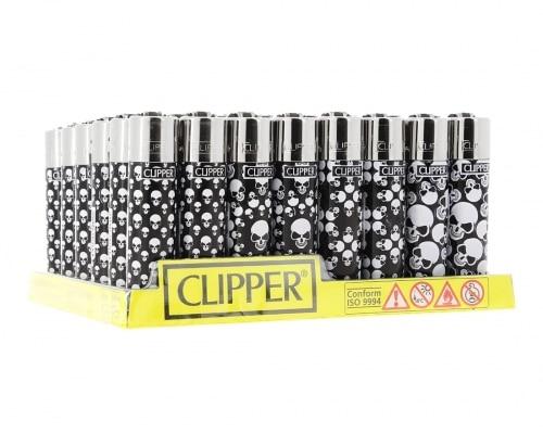 Briquet Clipper x48 Skull