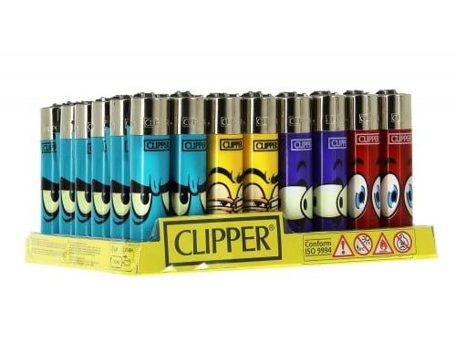 48 briquets Clipper Cartoon Yes