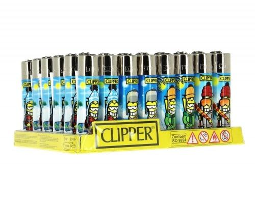 48 briquets Clipper Winter