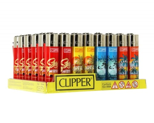 48 briquets Clipper Surf 4 Palm