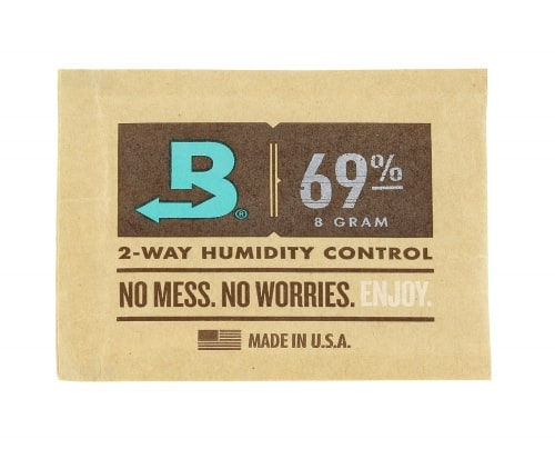 Système d'Humidification Boveda pour Tabac à Pipe 69%