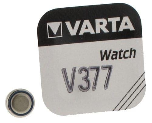 Pile Oxyde d\'Argent Varta V377