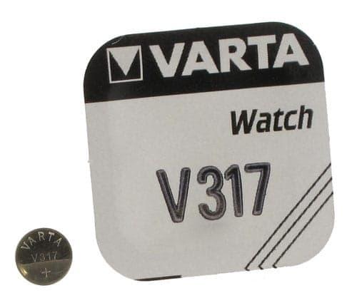 Pile Oxyde d'Argent Varta V317