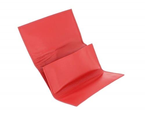 Blague à Tabac Cuir CC011 Rouge