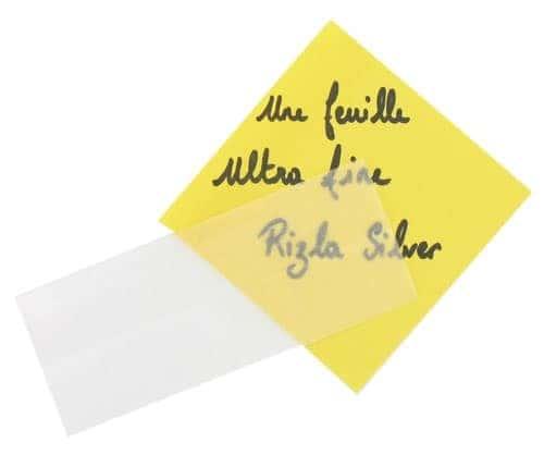 Papier à rouler Rizla + Slim Gris x 25
