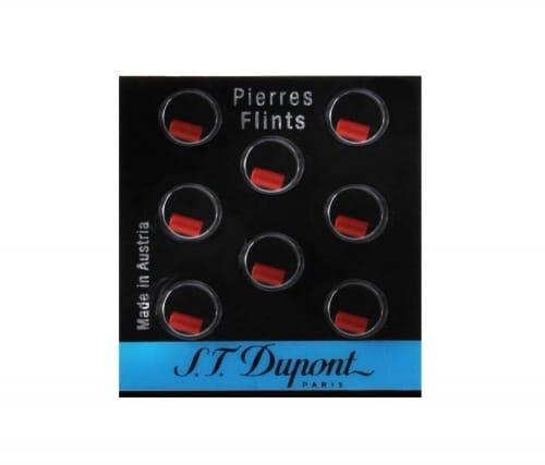 Pierres de briquet S.T. Dupont rouges 650