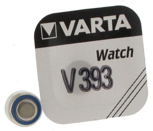 Pile Oxyde d\'Argent Varta V393