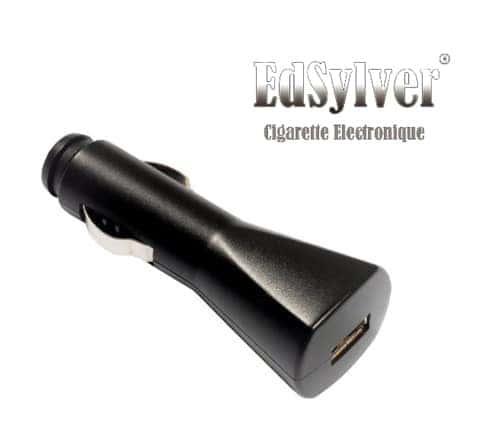 Chargeur de voiture pour cigarette électronique Edsylver