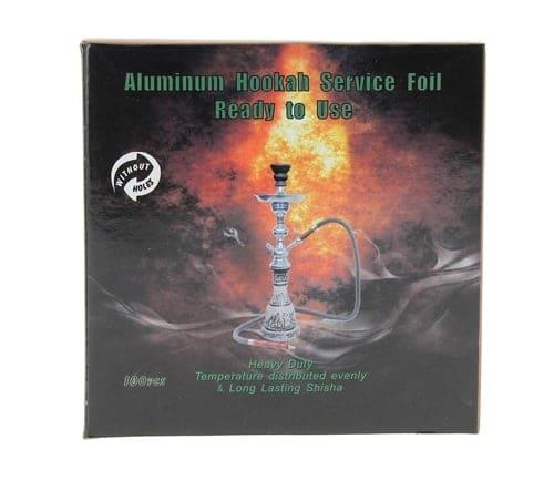 Feuilles aluminium perforées pour chicha