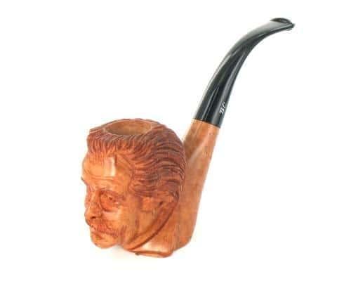 Pipe Sculptée Georges Brassens