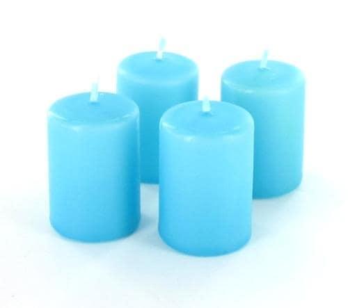 Bougies Anti Tabac Rondes Mini Bleues x4
