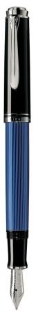 Stylo Plume Pelikan M405 Souverän noir et bleu