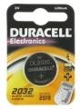 Pile Lithium Duracell CR2032