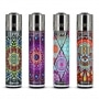 Photo de Briquet Clipper Mandala x 4