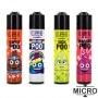 Photo #1 de Briquet Clipper Micro Emoji Poo x 48